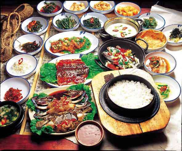 Korean traditional dish