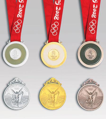 북경올림픽 메달