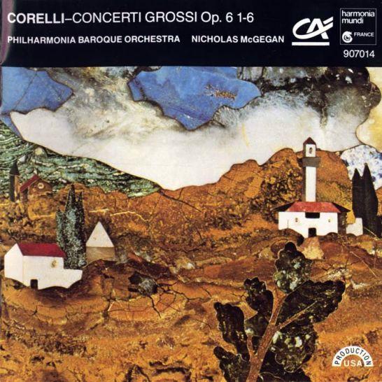 아르칸젤로 코렐리/Concerti Grossi Op.6 No.2